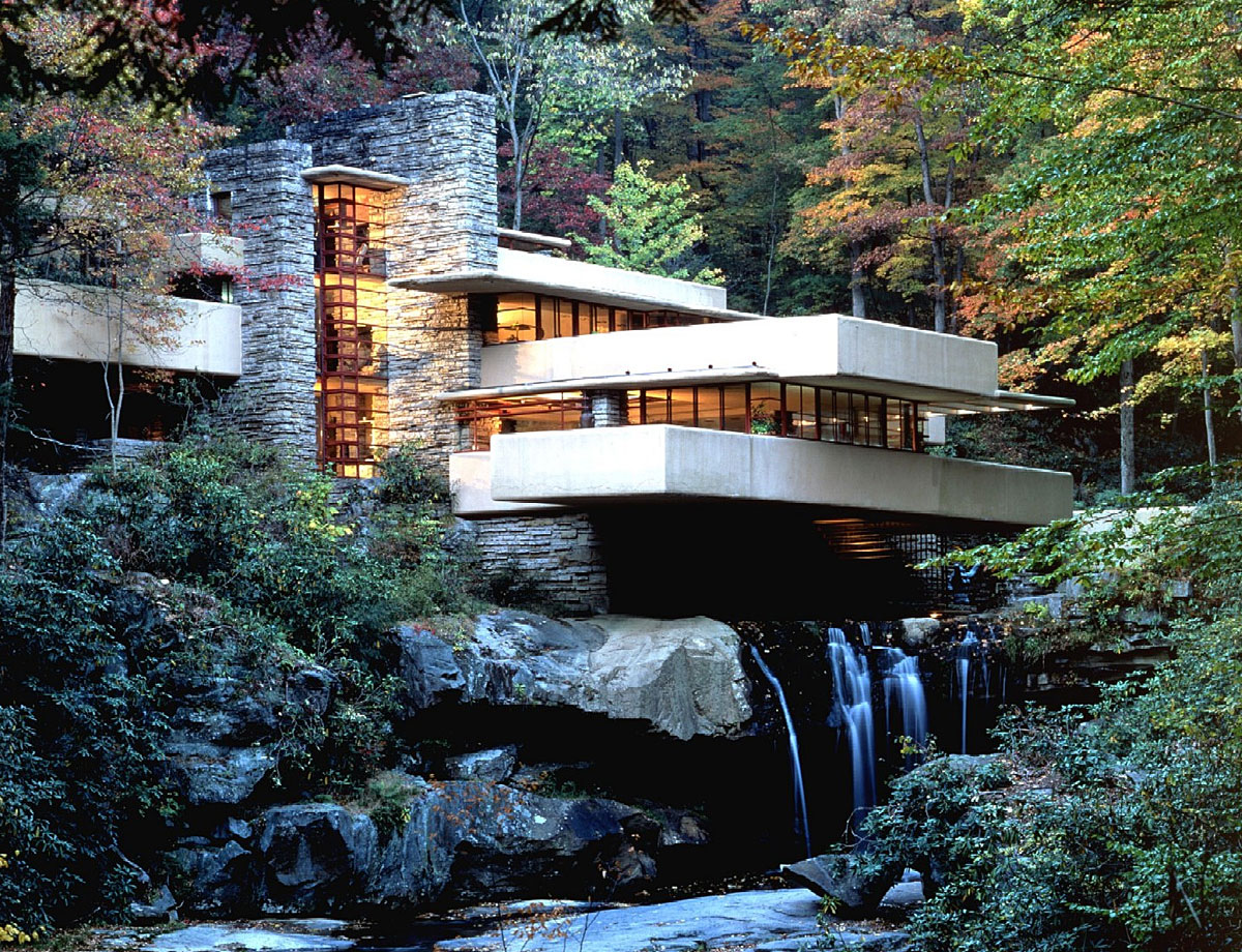 Architecte: Frank Lloyd Wright ©